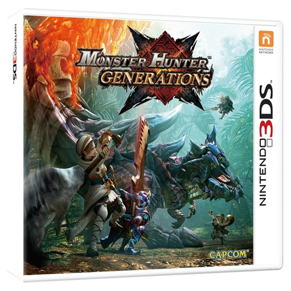Monster Hunter Generations 3DS Game - Image 2