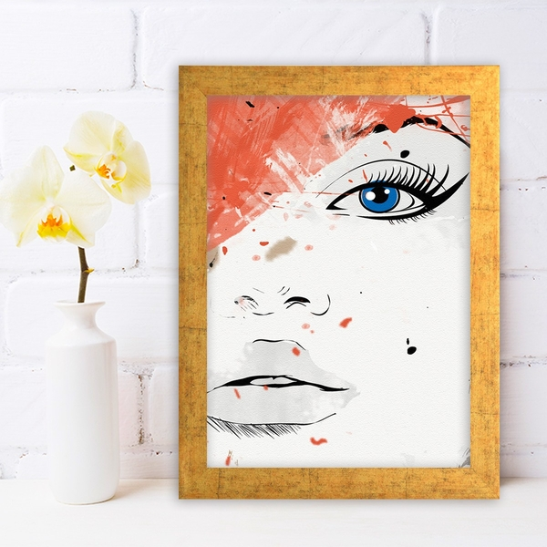 AC848730965 Multicolor Decorative Framed MDF Painting