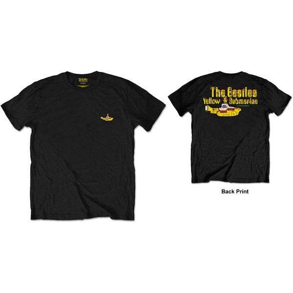 The Beatles - Nothing Is Real Men's X-Large Short Sleeve T-Shirt - Black