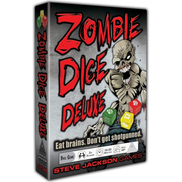 Zombie Dice Deluxe (10th Anniversary) Board Game