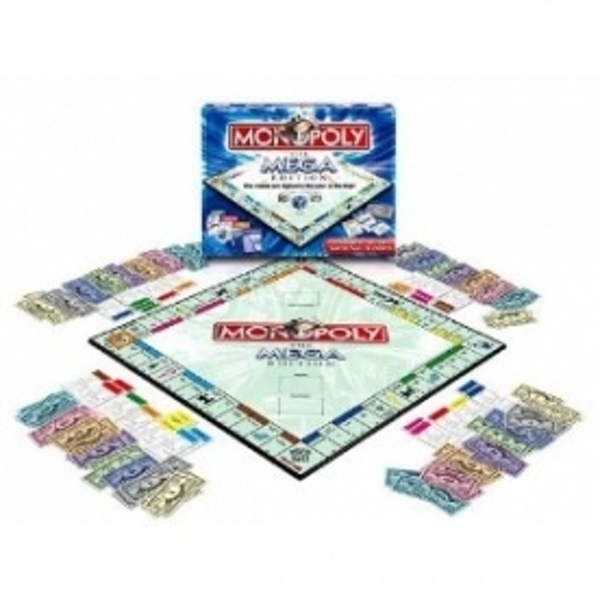 Ex-Display Monopoly Mega Board Game Used - Like New - Image 1