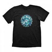 Gears Of War 4 Mens Diamond Rank Logo Medium Black T-Shirt