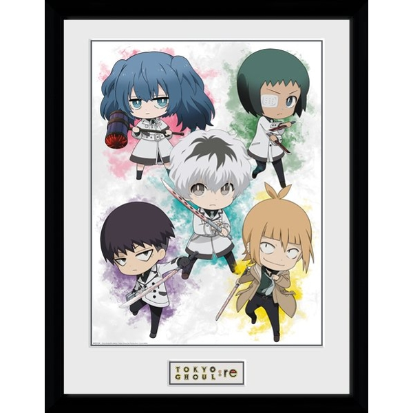 Tokyo Ghoul: RE Chibi Framed Collector Print