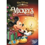 Mickeys Once Upon A Christmas DVD
