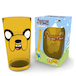Adventure Time Jake Face Coloured Glass Premium Large Glass - Image 2