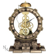 Time Machine Steampunk Clock