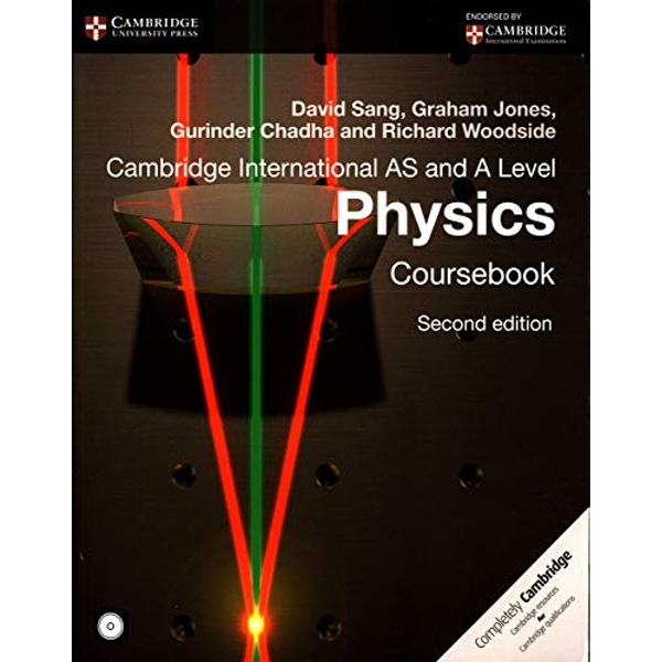 Cambridge International AS and A Level Physics Coursebook with CD-ROM  Mixed media product 2014