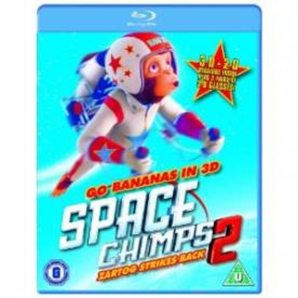 Space Chimps 2 2D & 3D (Glasses Included) Blu-Ray