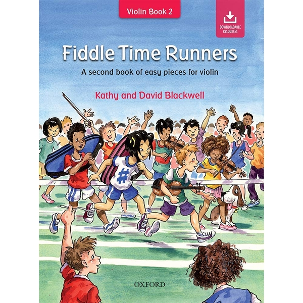 Fiddle Time Runners: A second book of easy pieces for violin Paperback – 4 Jul 2013