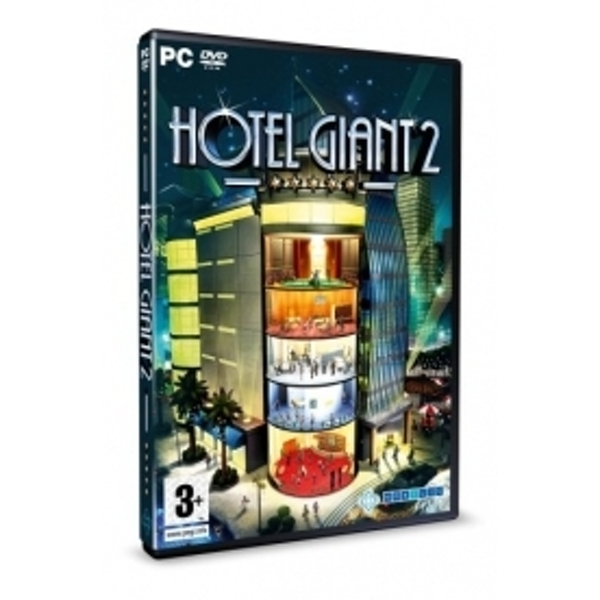 Ex-Display Hotel Giant 2 Game PC Used - Like New