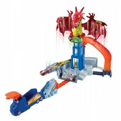 Ex-Display Hot Wheels Dragon Blast Playset Used - Like New
