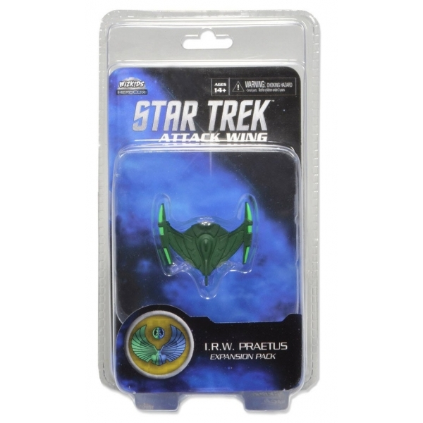 Star Trek Attack Wing IRW Praetus Wave 1 Board Game