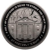 Back to the Future Clocktower Collector's Limited Edition Coin (Silver)