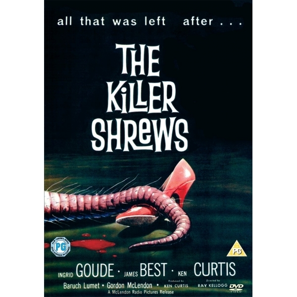 Killer Shrews DVD