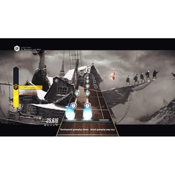 Guitar Hero Live with Guitar Controller Xbox 360 Game - Image 4