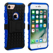 Caseflex iPhone 7 Kickstand Combo Case - Blue (Retail Box)