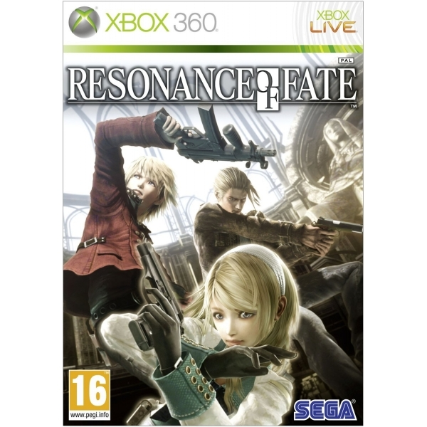 Resonance Of Fate Game Xbox 360