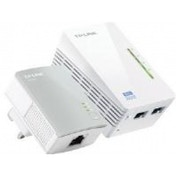 TP-LINK AV500 TL-WPA4220 300Mbps WiFi Powerline Extender Starter Kit Twin Pack UK Plug