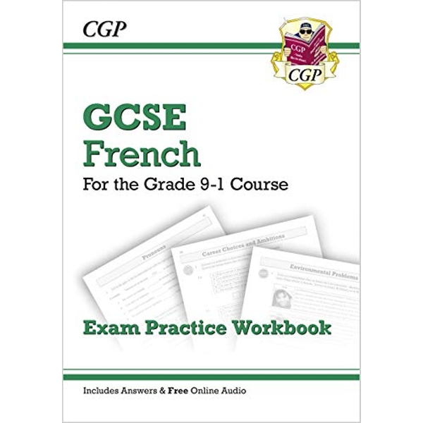 New GCSE French Exam Practice Workbook - For the Grade 9-1 Course (Includes Answers) by CGP Books (Paperback, 2016)