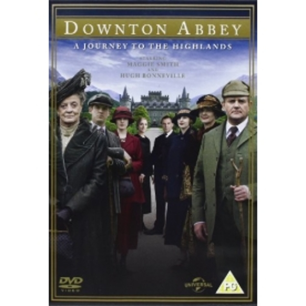 Downton Abbey A Journey To The Highlands Christmas Special DVD