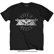 Guns N' Roses - Circle Logo Men's Medium T-Shirt - Black