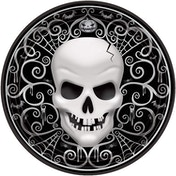 Fright Night Paper Banquet Plates (Pack Of 8)