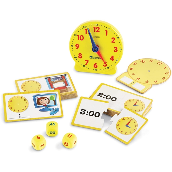 Learning Resources Time Activity Set For Kids