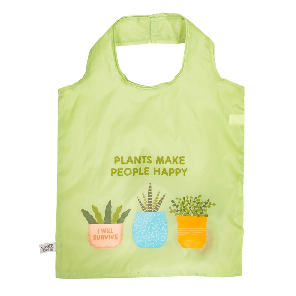 Sass & Belle Plants Are My Friends Foldable Shopping Bag