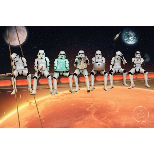 Stormtrooper Stormtroopers On A Girder Maxi Poster