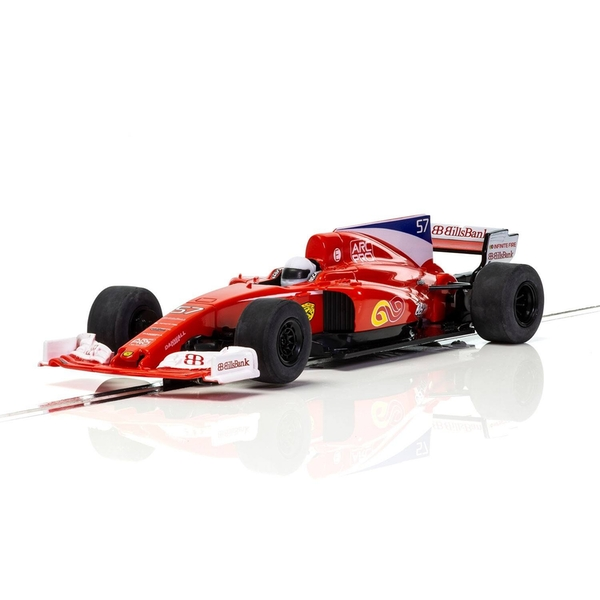 Red Stallion F1 Car 1:32 Scalextric Super Resistant Car