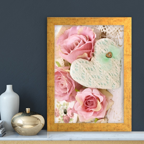 AC10139624501 Multicolor Decorative Framed MDF Painting