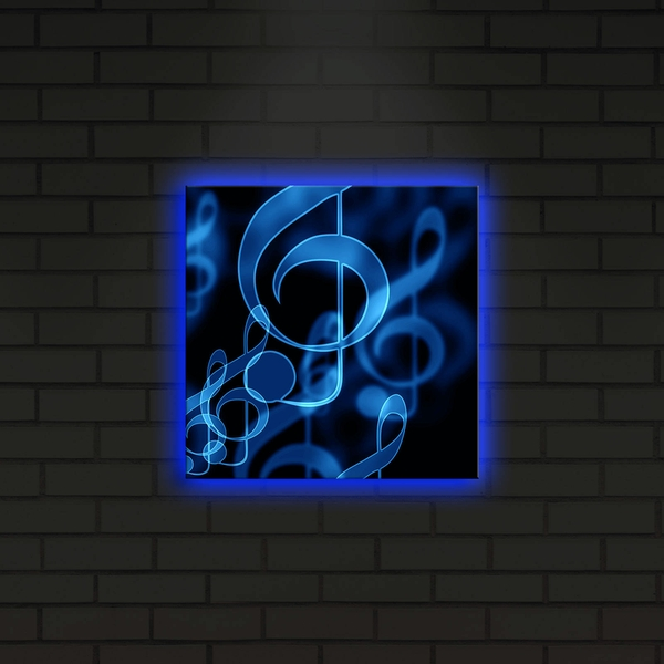 2828DACT-22 Multicolor Decorative Led Lighted Canvas Painting