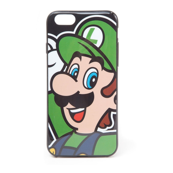 Nintendo - Luigi Face Apple Iphone 6 Phone Cover