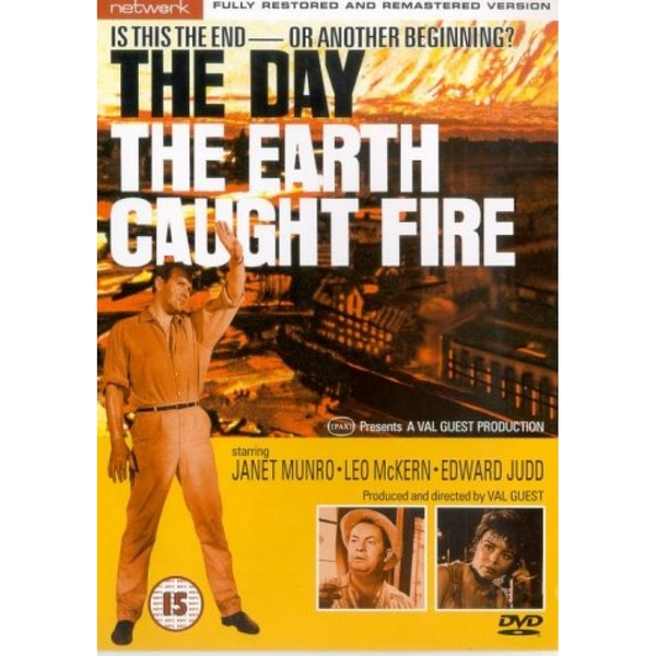The Day The Earth Caught Fire 1961 DVD