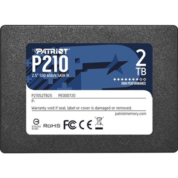 Image of Patriot P210 SSD 2TB SATA 3 Internal Solid State Drive 2.5?