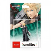 (Damaged Packaging) Cloud Version 2 Amiibo (Super Smash Bros) for Nintendo Wii U & 3DS Used - Like New