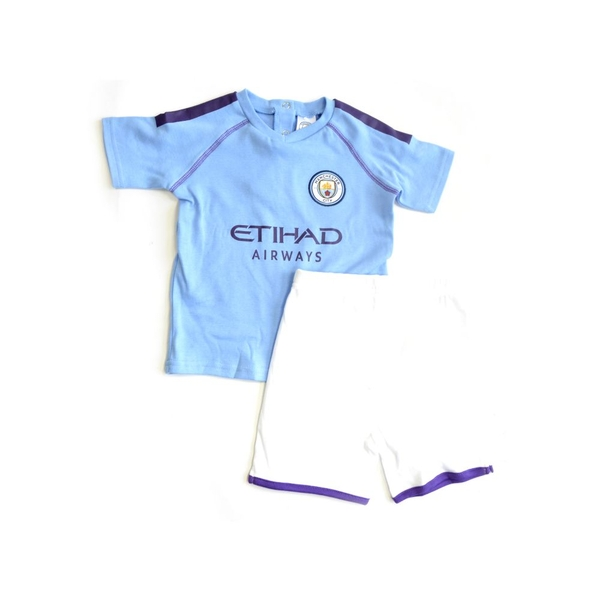 Man City Short and Tee Sleep Set 2019 20