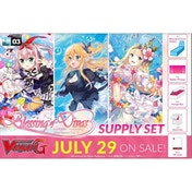 Cardfight Vanguard TCG Blessing Of Divas Clan Booster Supply Set