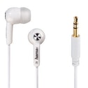 "Hama ""Basic4Music"" in-ear stereo earphones, white"
