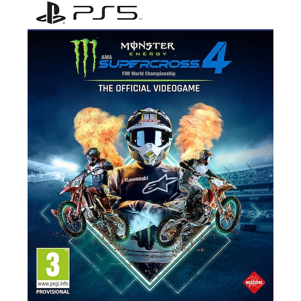 Monster Energy Supercross The Official Videogame 4	Game PS5