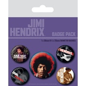Jimi Hendrix - Experience Badge Pack