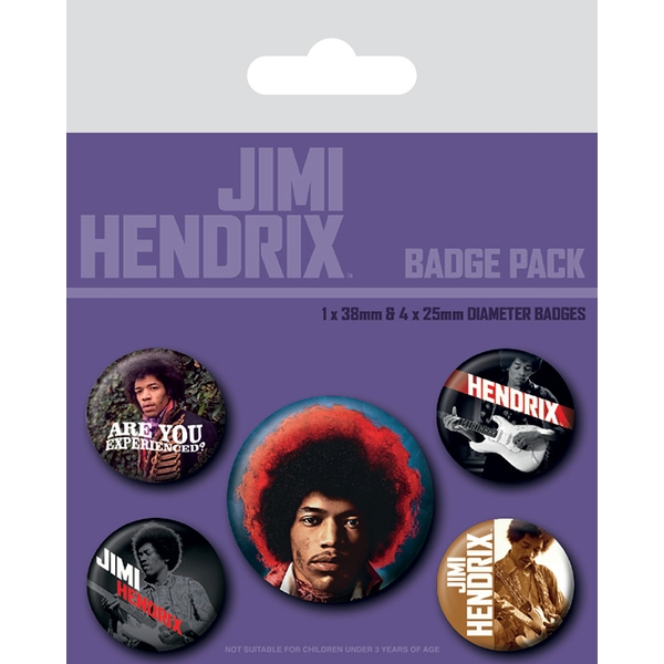 Jimi Hendrix - Experience Badge Pack - Image 1