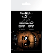 Five Nights at Freddys Fazbear Card Holder