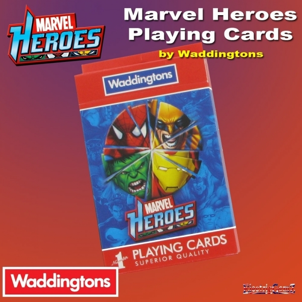 Waddingtons Marvel Universe Playing Cards