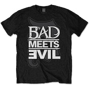 Bad Meets Evil - Logo Men's Medium T-Shirt - Black