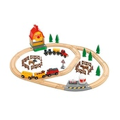 Brio Country Farm Train Set