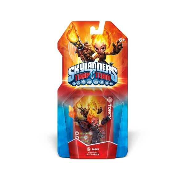 Torch (Skylanders Trap Team) Fire Character Figure - Image 1