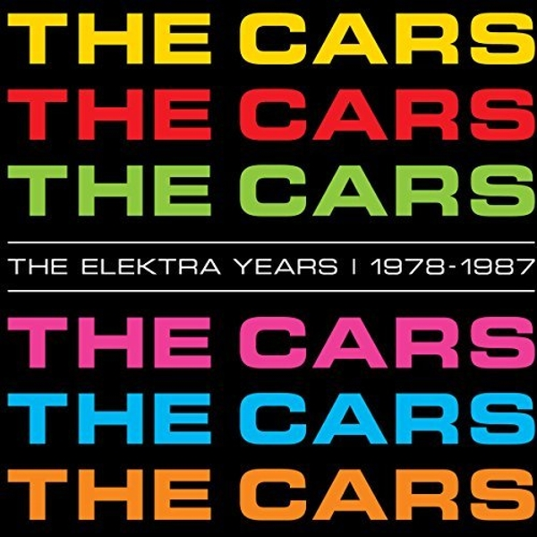 The Cars - The Elektra Years 1978 - 1987 Box set CD