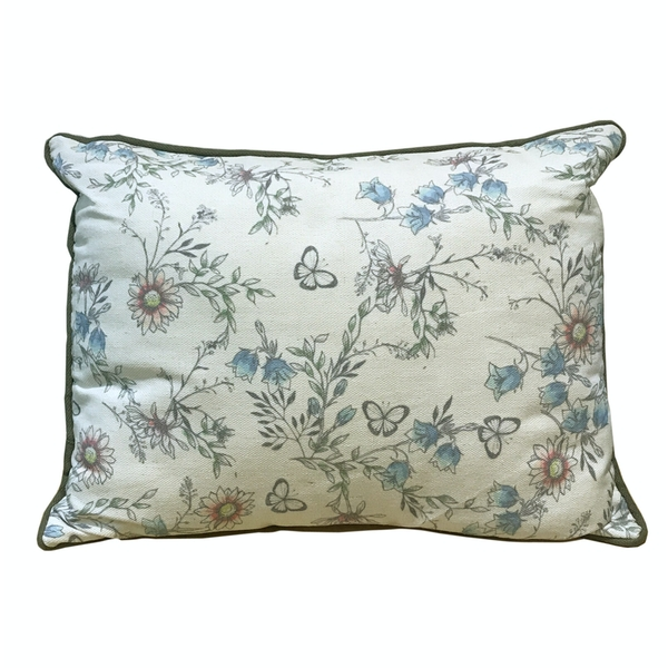 Secret Garden Cushion - Blue