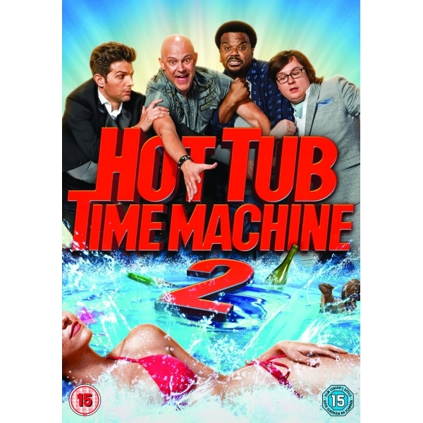 Hot Tub Time Machine 2 DVD